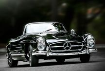 Beautiful motor cars...