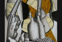 cubism collage