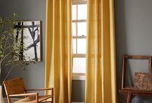 Interior - Grey & Mustard