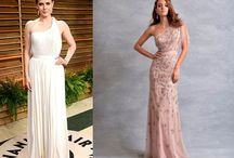 Celeb Bridal inspiration / Bridal gown ideas sourced straight from the red carpet