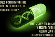 We Promote: Creed Security / Do You need Security Staff in Your Business? Please contact Creed Security Who can supply them in no time