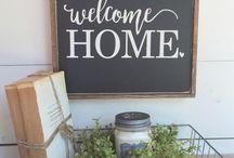farm house signs