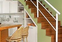 cozinhas com escada