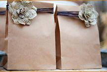 idea with brown bags