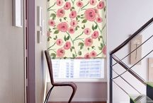 Blinds: Feel the Pink / Give a feminine look & feel to your room with pink blinds.