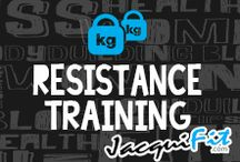 Resistance Training / All about the fabulous benefits of weight training!  / by Jacqui Blazier, www.jacquifit.com