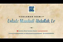 Kajian : Ustadz Maududi Abdullah