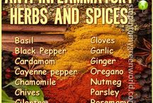 Flavor Facts / You know that your food choices can help prevent and treat disease and illness...and spices are no exception! So much benefit to eating with spice.
