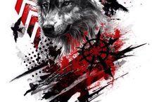 Farkas tattoo