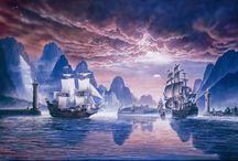 Море, паруса