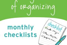 An Organized Life / Read your way to an organized life with the tips and tricks below...