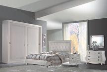 classic furniture / camere da letto in stile classico laccate e decorate a mano anche su misura e progetto del cliente