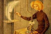 Remedios Varo, Leonora Carrington / Pintura surrealista