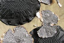 textile effet métal