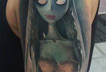 Goth tattoo ideas / Goth tattoo ideas - macambre tattoo ideas