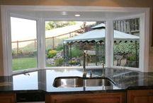 Kitchen Bay Window