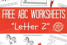 Letters (Worksheets)