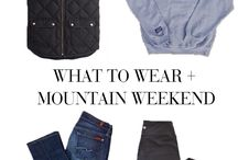 Mountain Outfits