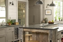 New old world kitchen / Looking for the right balance of a workable modern kitchen inside a wrapper of old world charm / by Susan LoPiccolo