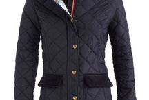 Quilted Green Coat