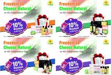 independence day discount / discount on gift pack