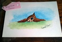Etsy Store - SproutymouseDoodles / Paintings on my Esty store