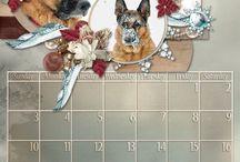 Kalender Layouts