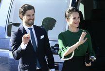 Carl Philip a Sofia  tehotná