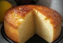 Gâteau au lait semoule vanille citron