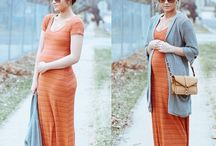 Maternity fashion / How to look awesome when you're pregnant