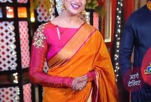 silk saree bridal blouse