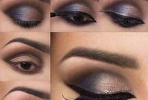 maquillaje ojos cafes