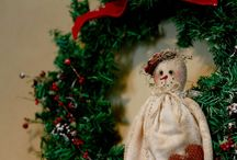 christmas wreaths/wall hangings / A selection of Christmas wreaths and wall hangings lovingly handcrafted