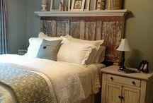 Bedroom ideas / by Dawn Case Howe