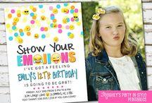 Emoji Party / Emoji Birthday Party Ideas / by Meghily's Printables