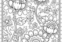 coloring pages / by Tammy Spaulding