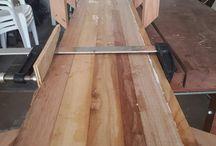 My first wooden surfboard