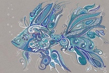 Graffiti Téléphone / Doodle Zentangle