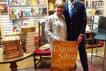 Daniel Silva / Daniel Silva came to The Poisoned Pen to sign his latest book, The Black Widow. July 2016.