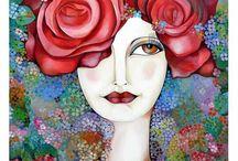 Artist Karina Chavin
