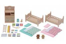 Sylvanian Families Meble do Sypialni Dziecięcej / Wyjątkowe zabawki dla dzieci marki Sylvanian Families