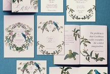 Botanical Crest Invitation