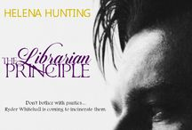 The Librarian Principle / Ryder Whitehall and his panty incinerating hotness