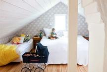 Inspiration till sovrumsbygget / Bygger sovrum på vinden.