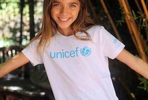 UNICEF Clothing and Accessories / Show your support for UNICEF with a UNICEF t-shirt, onesie or cap.