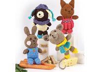 Bebeluși - Jucarii tricotate si crosetate