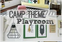 Playroom Ideas / Children's Playroom Ideas, Playroom, Playroom Organization, Fun Children's Decor, Children's Decorating