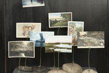 stone display / Photo stand