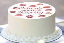 Dekoracje tortu na Wieczór Panieński