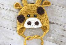 crochet hat. for kids.